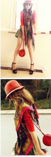 Fashion Chic Straw Derby Cap Womens Girl Lovely Bow Topper Summer Beach Sun Hat