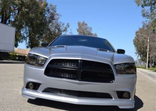 2011 2012 Dodge Charger RAM Air Light Weight Challenger RTC Style Hood by BMC