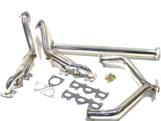 OBX Exhaust Header 91 92 93 94 95 Acura Legend V6 3 2L C31A