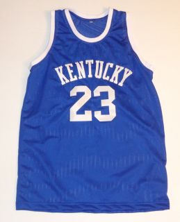 Anthony Davis UK KY Wildcats Hand Signed Basketball Jersey 23 Autographed Auto