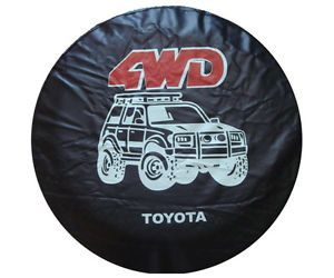 Toyota SUV 4WD Cartoon Spare Wheel Tire 0 7mm Soft Cover 30 31""