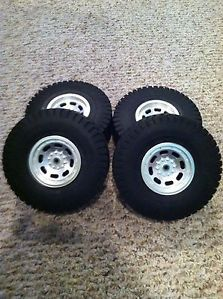 Tamiya Mammoth Dump Truck Wheels and Tires Juggernaut Clodbuster