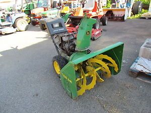 """Used"" John Deere Snow Blower TRS 32 Parts Only 10 HP 32 Inch"
