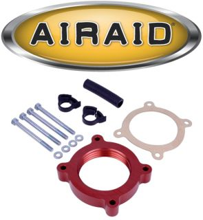 Airaid 450 636 Poweraid Throttle Body Spacer 11 12 Ford Mustang 3 7L V6 11 12