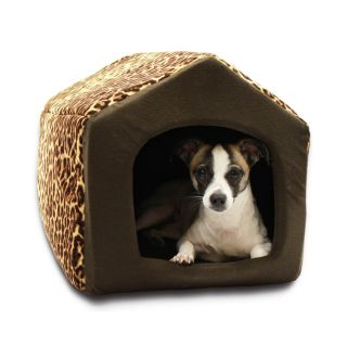 Pet Puppy Dog House Indoor Sofa Bed Couch Cute Soft Plush Fabric Dogs Cats New