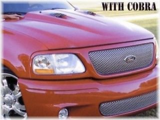 97 03 Ford F 150 Truck Steel Cobra Style Cowl Induction Hood