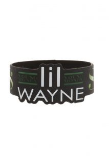 Lil Wayne Young Money Die Cut Rubber Bracelet