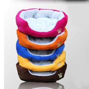 Small Dog Beds Soft Indoor Pet Dog Cat Puppy Bed Sofa House Fleece Mat Cushion