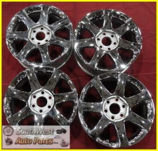 "08 09 10 Buick Enclave 19"" 6x132mm Chrome Wheels Used Rims Factory Set 4078"