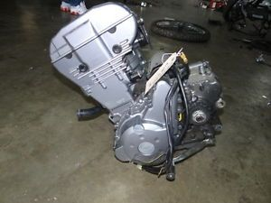 08 Kawasaki KLR 650 E Engine Motor Minus Harness Carburetor 6158 MI Item 49