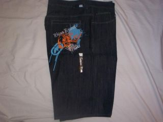 Ecko Unltd Jeans Shorts Size 48 Waist Big Tall New