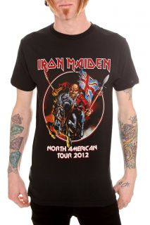 Iron Maiden North American Tour 2012 T Shirt 3XL