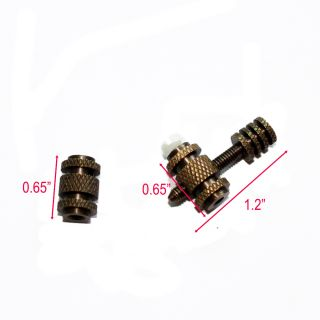 Tattoo Machine Parts Front Rear Binding Post Kit Replacement M4 Screw Thread