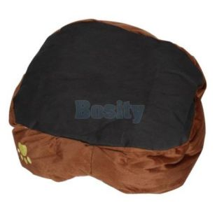 Dog Puppy Cat Pet Soft Fleece Winter Warm Bed House Soft Pad Mat Indoor