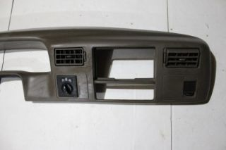 00 02 Ford Superduty F250 F350 Powerstroke Tan Dash Bezel Radio Surround