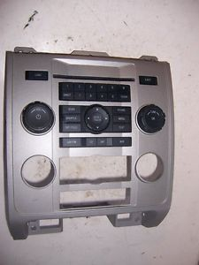 2008 2009 2010 2011 Ford Escape Dash Bezel with Heater Radio Controls