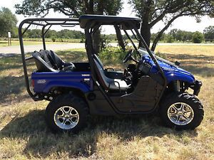 2007 Yamaha Rhino 660 Special Edition 4 Seater UTV Side by Side Off Road 4x4