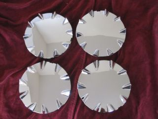 Chevrolet SSR Wheel Center Caps Hubcaps 2003 2006 Chrome Front Rear New Set of 4