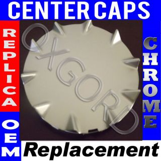 1 Piece Chevy SSR Rear Silver Center Caps Steel Wheels Rims Pop in Hub Cover