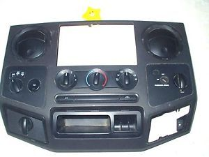 Center Dash Trim Radio Bezel 4x4 SW 2010 Ford F250 XL 5 4L 40251