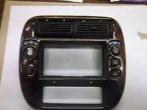 1995 2001 Ford Explorer Radio Bezel Woodgrain Parts