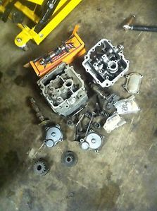 Yamaha Raptor YFM 660R 660 Cylinder Head Top End Engine 2001 01 02 03 04 05