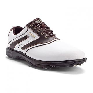 Etonic Sport Tech III Golf  Men's   White/Java WP Leather