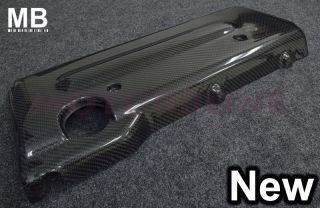 05 10 Scion TC Front Hood Engine Cover Real Carbon Fiber JDM Style Direct Bolton