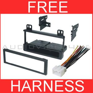 Ford Car Stereo Radio Dash Installation Mount Kit Trim Bezel Wiring Harness