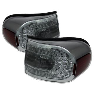Tail Lights Lamps Toyota FJ Cruiser 2007 2011 LED Smoke