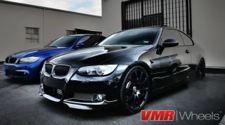 "VMR 19"" inch V701 Wheels Matte Black BMW 3 Series E90 E92 E93 328i 330i 335i"