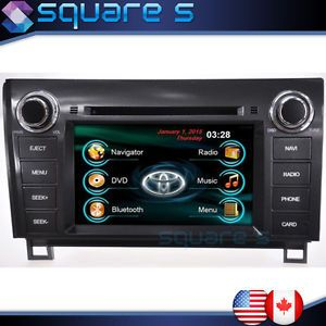 2011 12 13 Toyota Tundra in Dash GPS Navigation DVD Radio Deck Bluetooth Stereo
