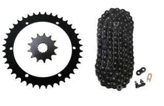 Black 520x92 Drive Chain 13 40 Sprockets 2001 2005 Yamaha Raptor 660 YFM660R