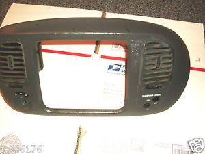 Ford Expedition 97 02 F150 Radio Climate Bezel Trim Dash Grey Surround Panel 4x4