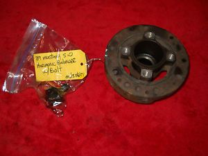 Ford Mustang 302 V8 HO 5 0 Crank Engine Harmonic Balancer Timing Pulley 671