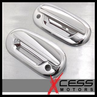 97 03 Ford F150 2dr Chrome Door Handle Cover w Keypad