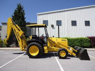 1997 Ford 555D 4x4 Loader Backhoe