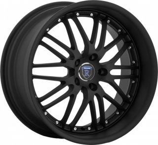 "18"" Rohana RL05 Wheels 5x100 Gloss Black Fits Subaru Legacy WRX Outback Wagon"