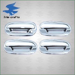 97 03 Ford F150 Expedition Chrome 4DOOR Handle Covers 02 Keypad 1KEYHOLE
