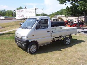 Tiger Star Minicab Mini Truck Utility Vehicle 4 Cylinder Gas 54 HP Foldable Bed