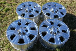 "18"" Ford F150 Truck F150 Expedition Chrome Clad Factory Wheels Rims"