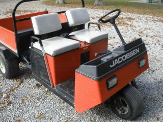 Excellent 1995 Jacobsen 2015 Utility Truck Vehicle 4' Dump Bed PTO 660 Hours