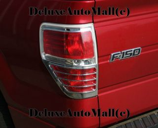 2009 2010 2011 Ford F150 Chrome Tail Light Trims Bezels