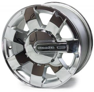 "16"" Factory Chrome Hummer H3 Wheels w Center Caps 6303 9595913 88965587"