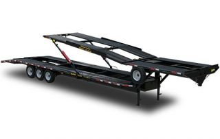 2008 Kaufman Car Hauler Trailer EZ 4 Double Deck Cargo
