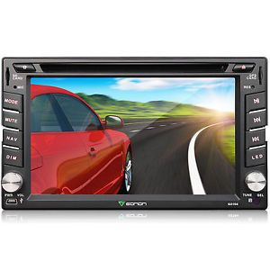 "Eonon 6 2"" Double DIN 2Din Car DVD Player GPS Nav Bluetooth Touch Stereo BT iPod"