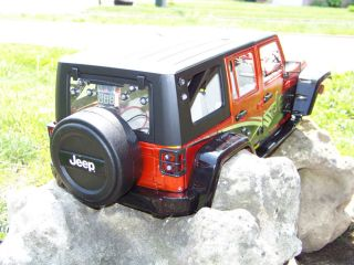 New Bright 1 10 Jeep Wrangler Unlimited Rubicon Body Rock Crawler Axial SCX10