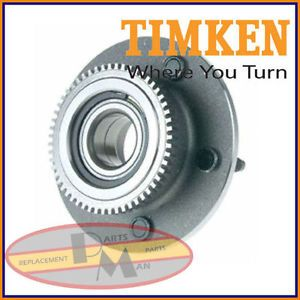 TIMKEN Front Wheel Bearing Hub Assembly Fits Dodge RAM 1500 2000 2001 2WD Rwd