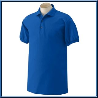 Gildan Cotton Poly Jersey Polo Sport Shirt s 3X 4X 5X