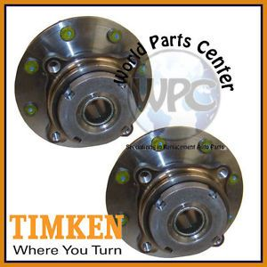 TIMKEN 2 Front Wheel Bearing Hub Assembly Ford F250 F350 Super Duty Rear ABS